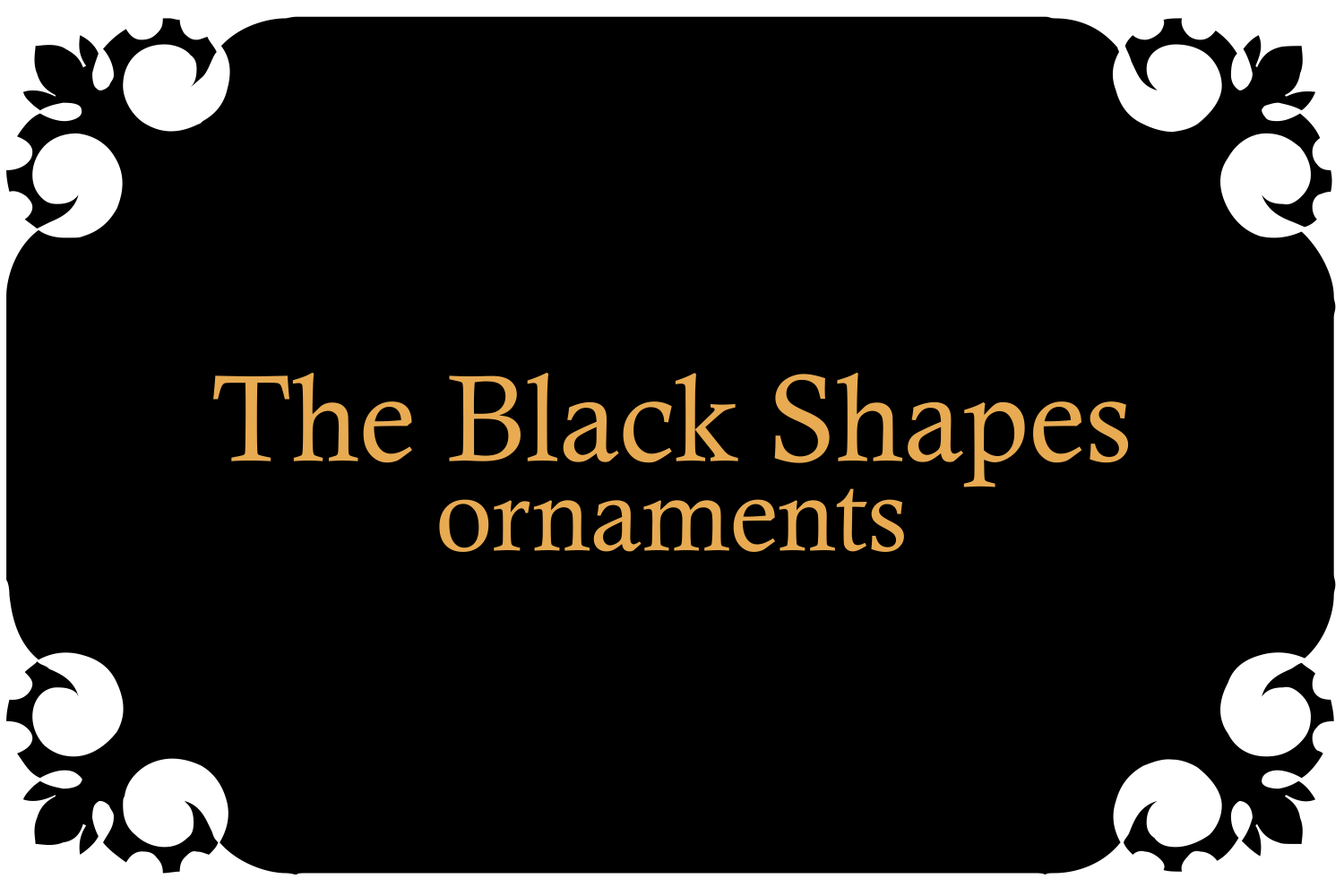The Black Shapes example image 1