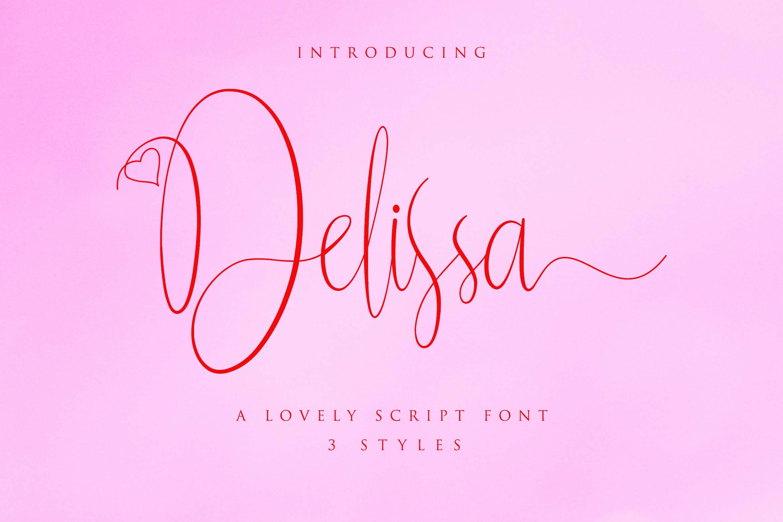 Delissa Script example image 8