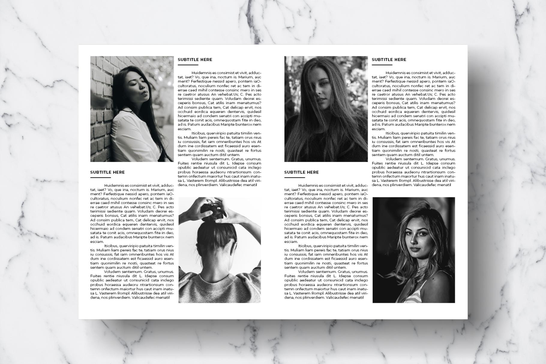 Magazine Template Vol. 12 example image 10