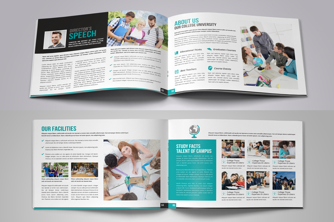 Education Prospectus Brochure Bundle example image 9