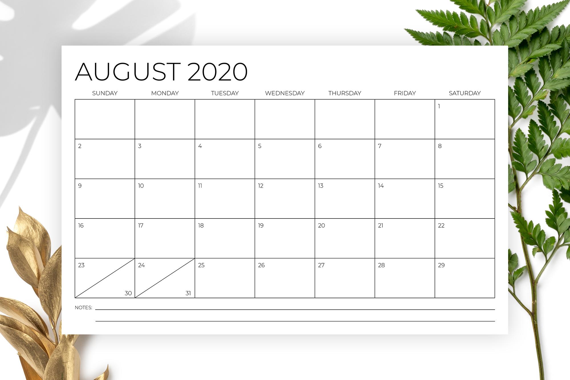 11 x 17 Inch Modern 2020 Calendar example image 4