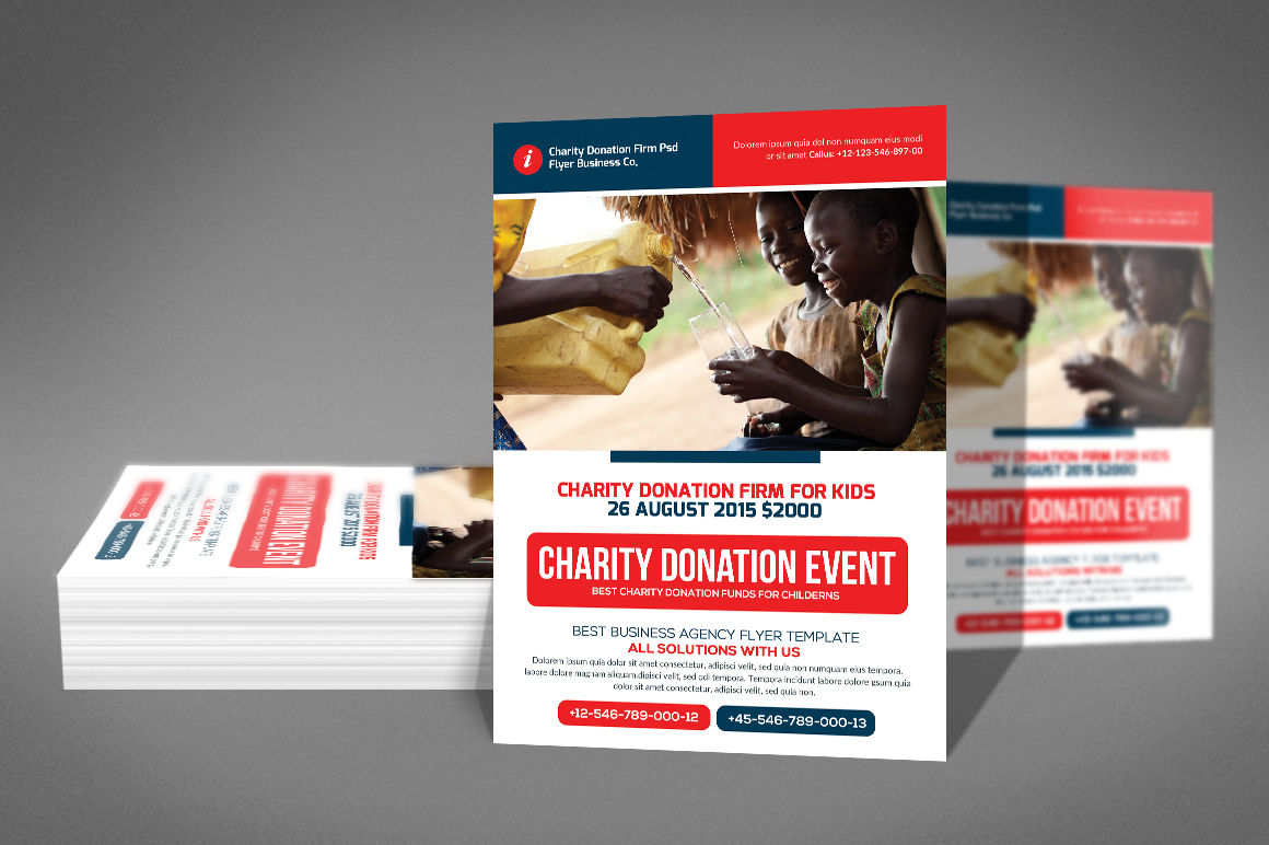 Charity Donation Flyer example image 3
