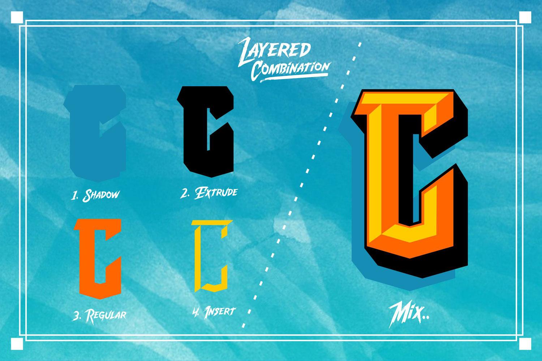 Convexa Typeface example image 3
