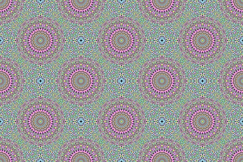 48 Seamless Floral Mandala Patterns example image 30