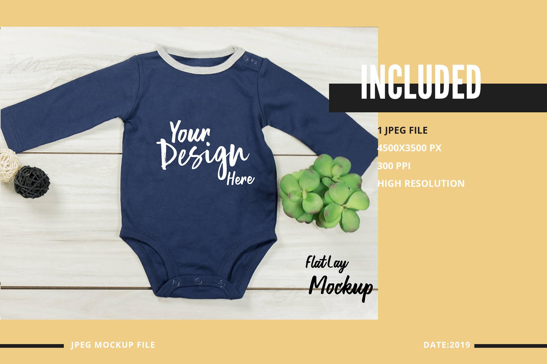 Neo Baby T-Shirt Mockup Volume 31 example image 2