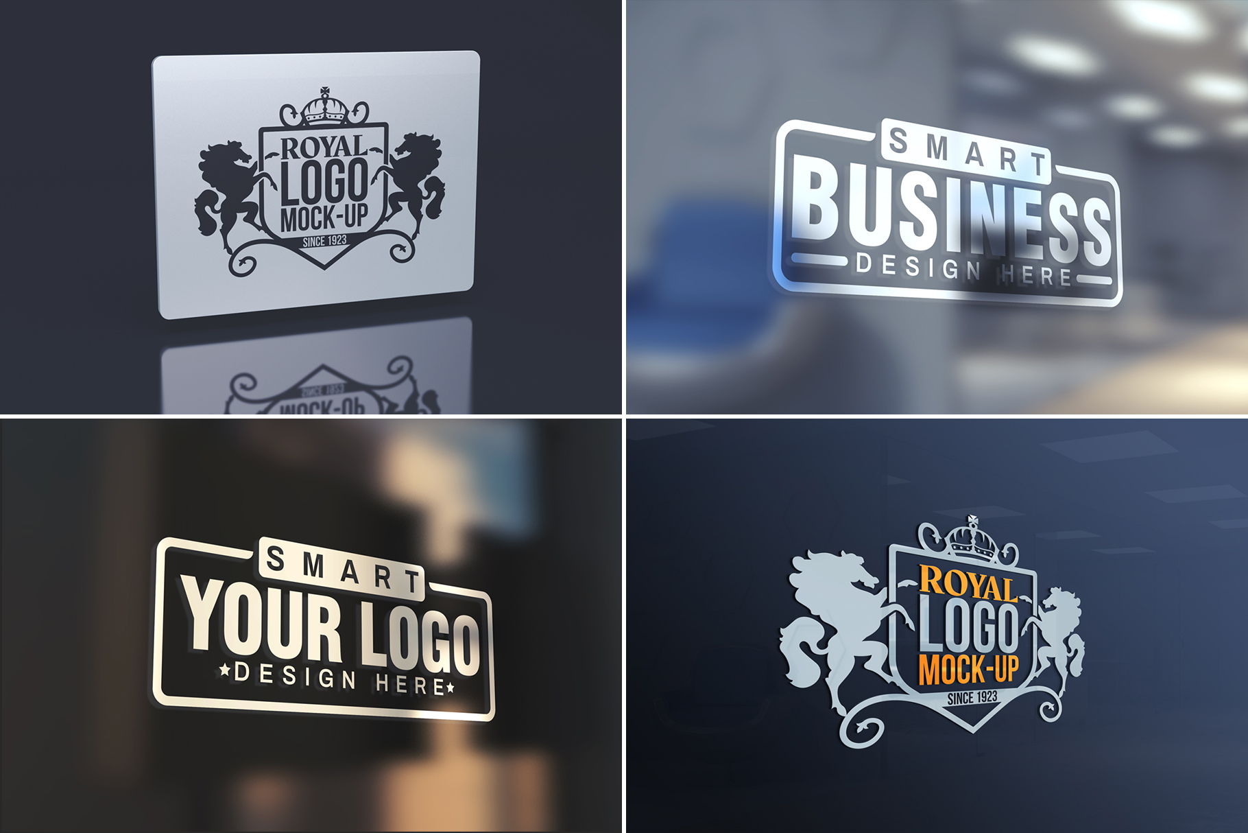 100 Logo Mockups Bundle Vol.3 example image 22