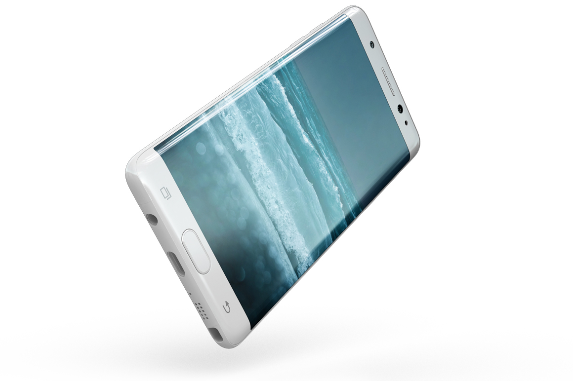 Samsung Galaxy Note 7 Gravity Mockup example image 12