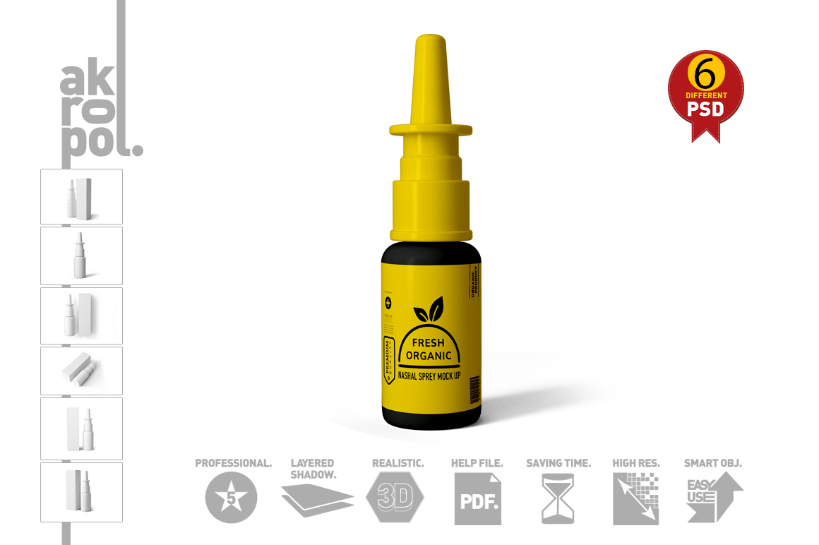 Nasal Spray Mock Up example image 17