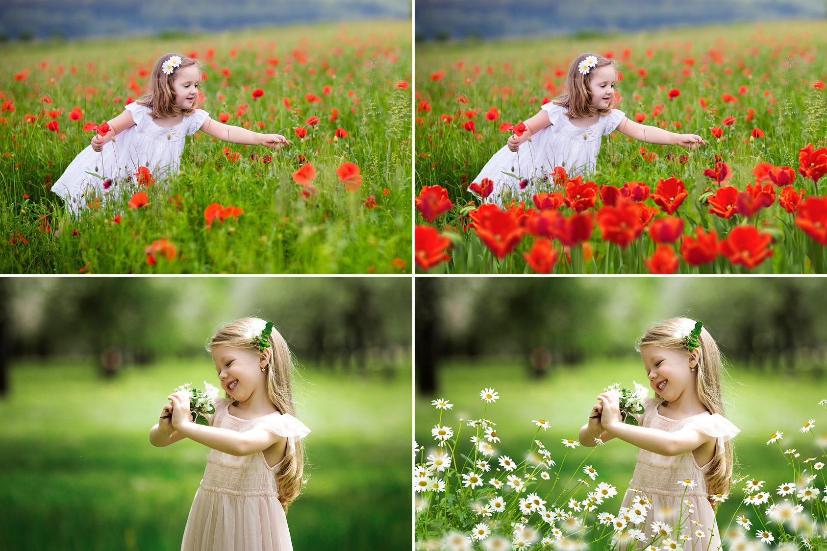 65 Flower Photo Overlays example image 2