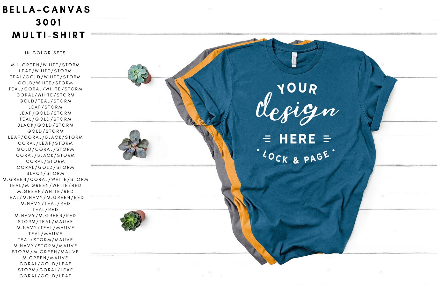34e715ff3 Bella Canvas T-Shirt Mockup Spring Summer Mega Bundle example image 8