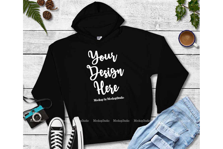 Tshirt Mockup Bundle, Unisex Shirt Mock Up Basic Bundle example image 5