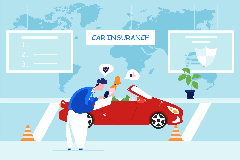 Car Dealership Vector Illustration Pack example image 7
