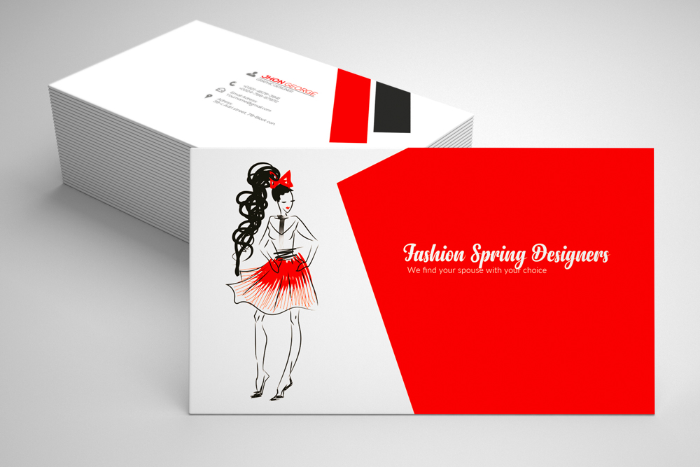 Fashion Designer Business Card  example image 1
