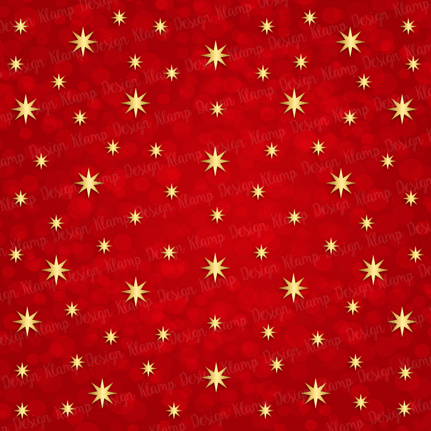 Red and Gold Christmas Digital Paper Pack / Backgrounds / Scrapbooking / Patterns / Printables / Card Making example image 8
