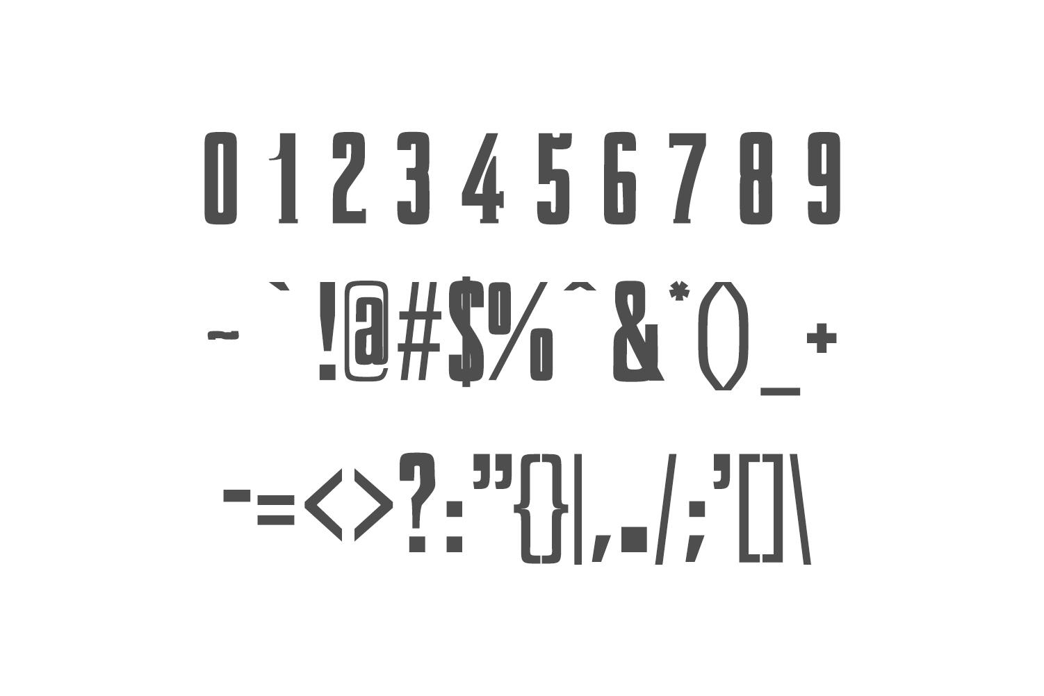 Karlton Slab Serif Font Family example image 3