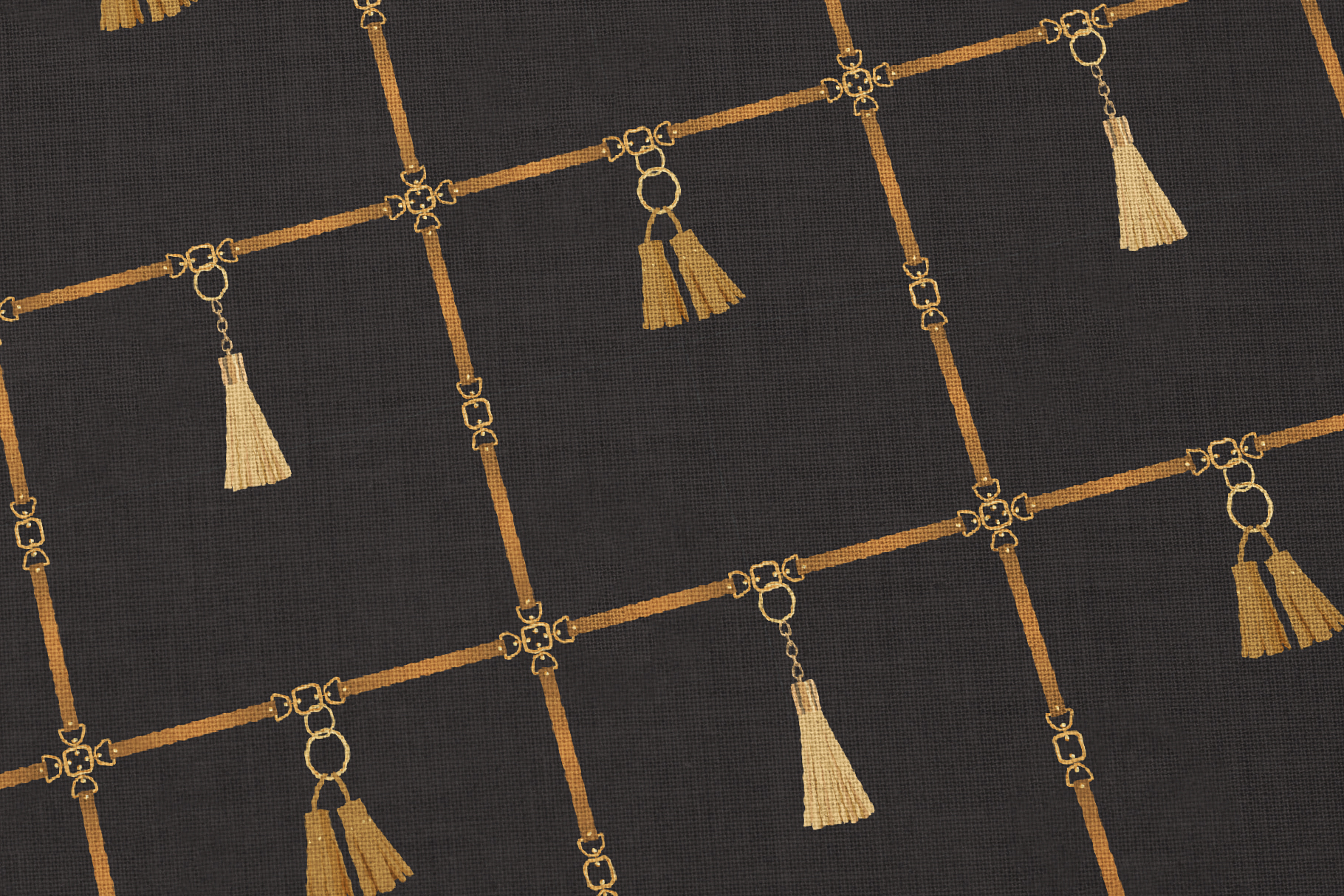 Chains and Belts Seamless Patterns. Set 1 example image 3