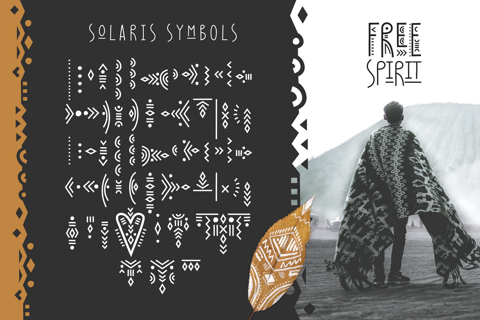 Solaris - Tribal Font Family example image 6