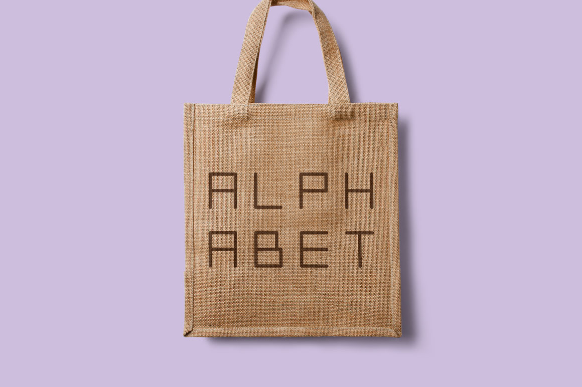 Simple english minimalistic alphabet example image 4
