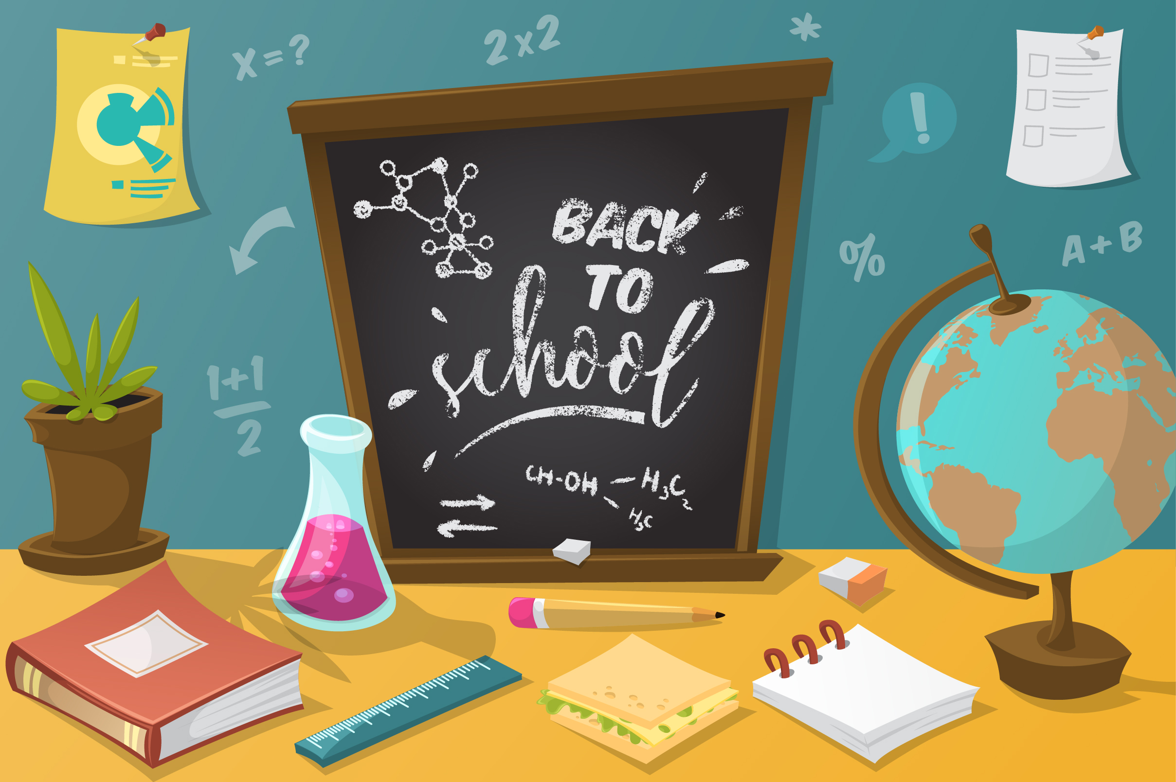 Back to school collection example image 1