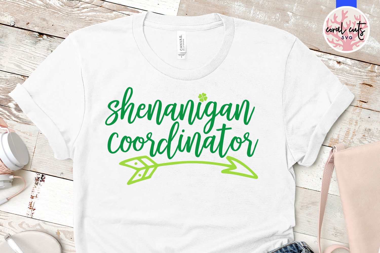 Shenanigan coordinator - St. Patrick's Day SVG EPS DXF PNG example image 2