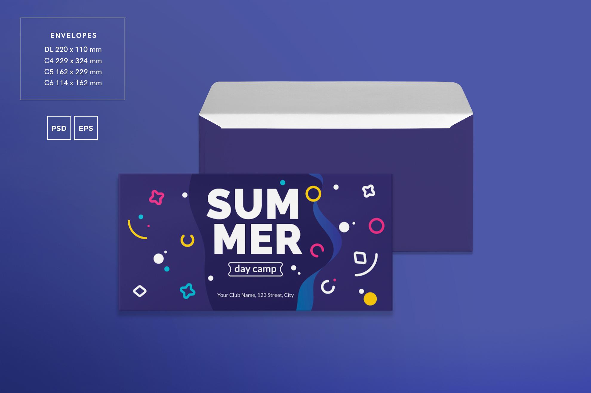 Summer Day Camp Design Templates Bundle example image 5