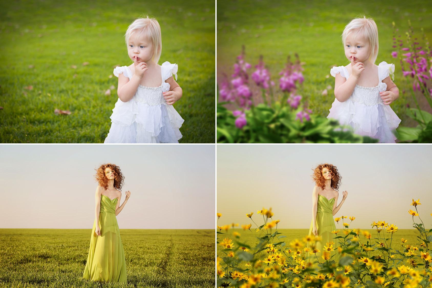 65 Flower Photo Overlays example image 3