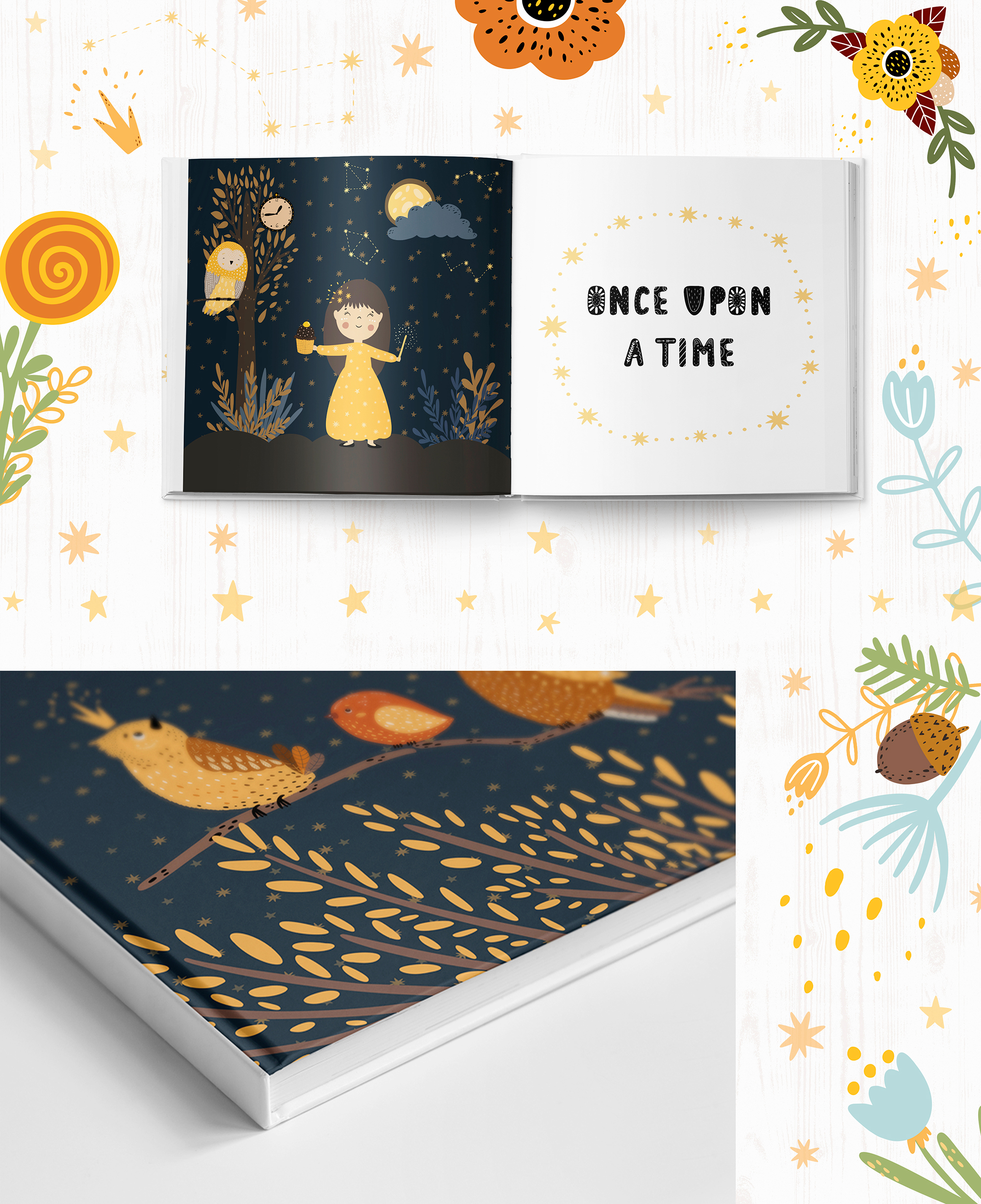 Magical Fairy Set book creator example image 12