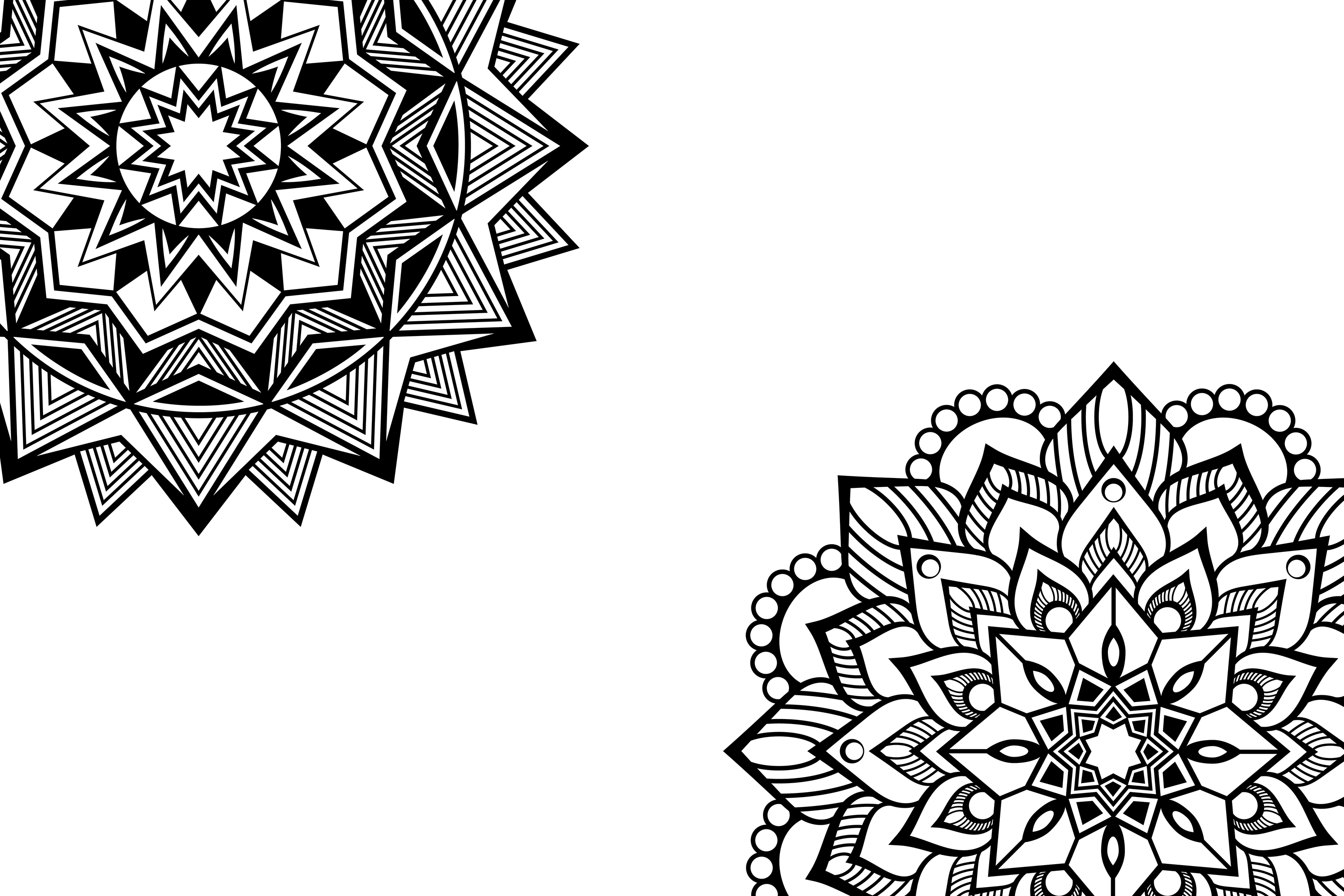 Mandala svg files example image 3