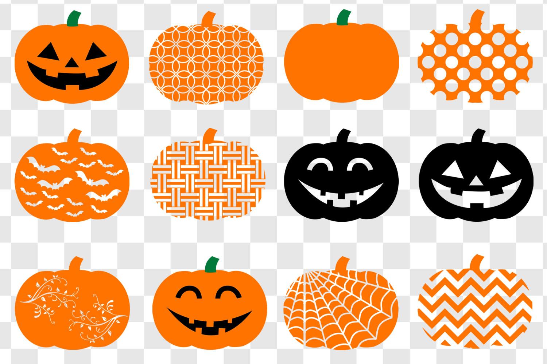 Pumpkin SVG Bundle - Pumpkin Clip Art example image 2