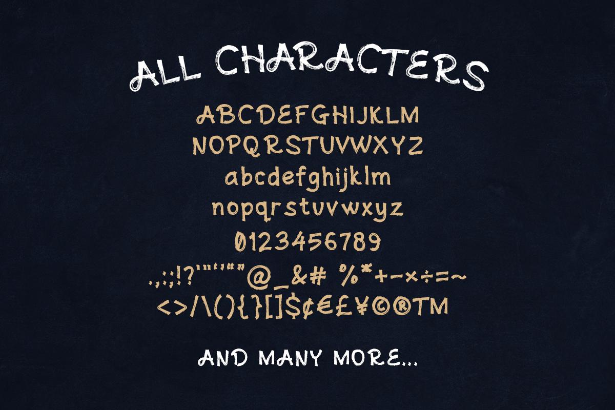 Andovine - Handbrush Typeface example image 7