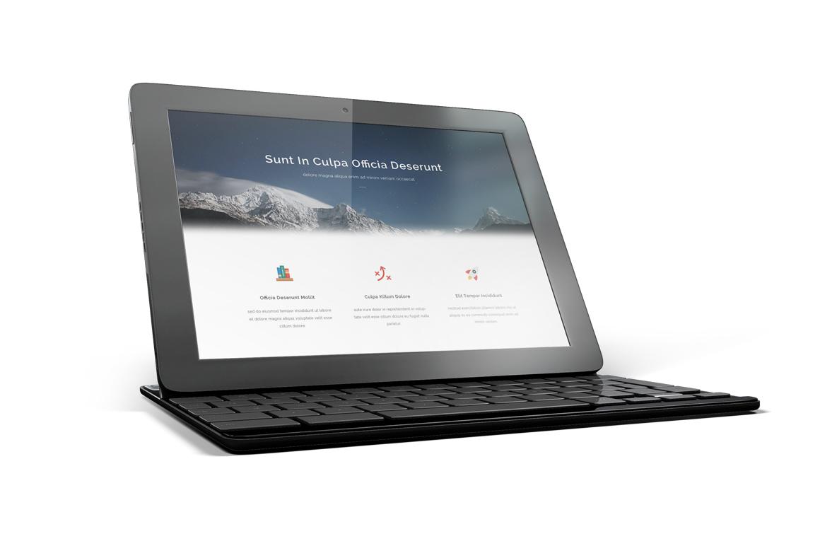 Google Pixel C Tablet Mockup example image 7