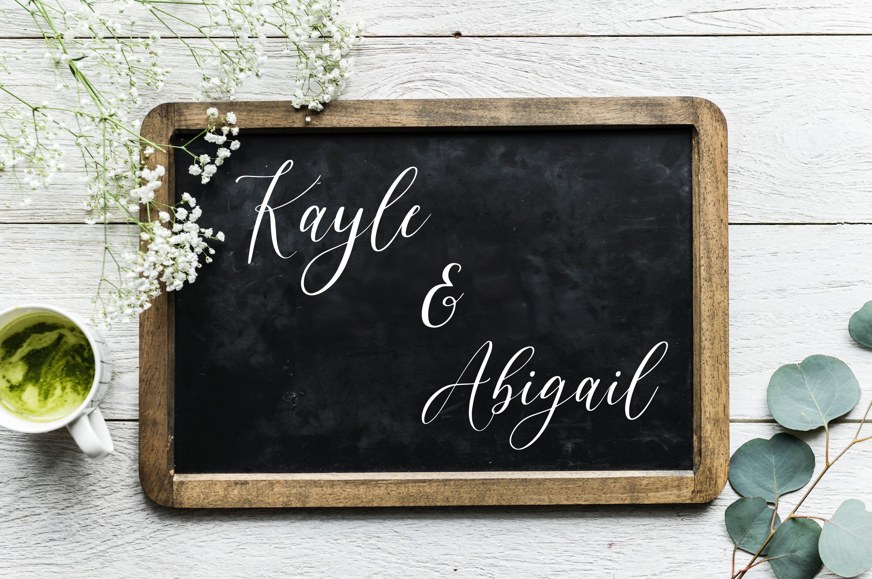 Magic & Chic Script Font example image 2
