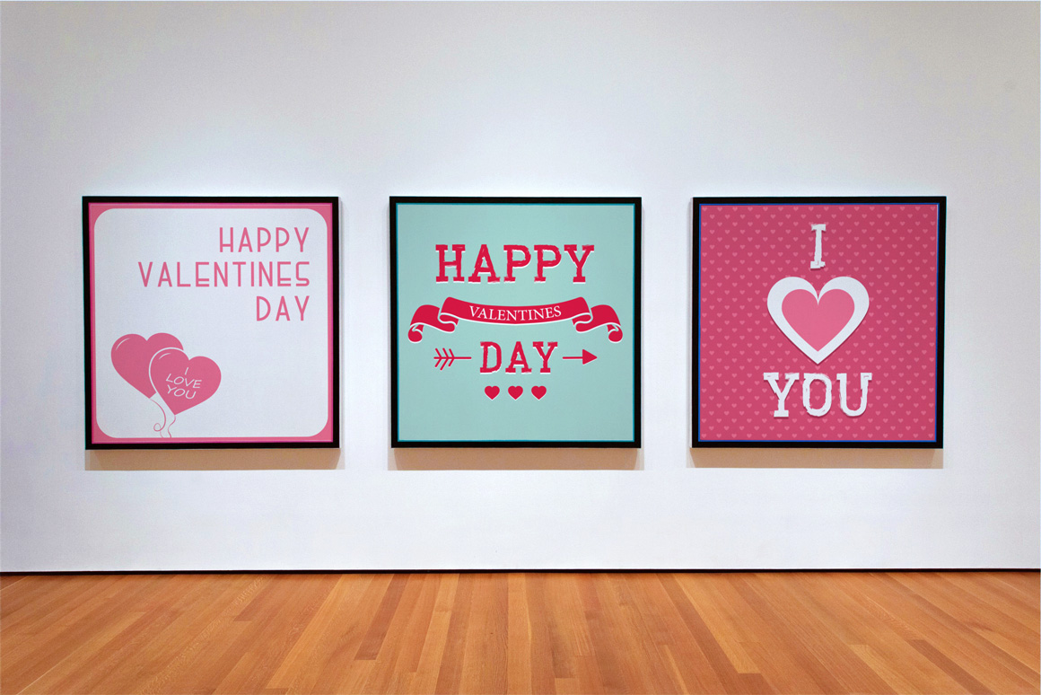Greeting Valentine Cards. example image 4