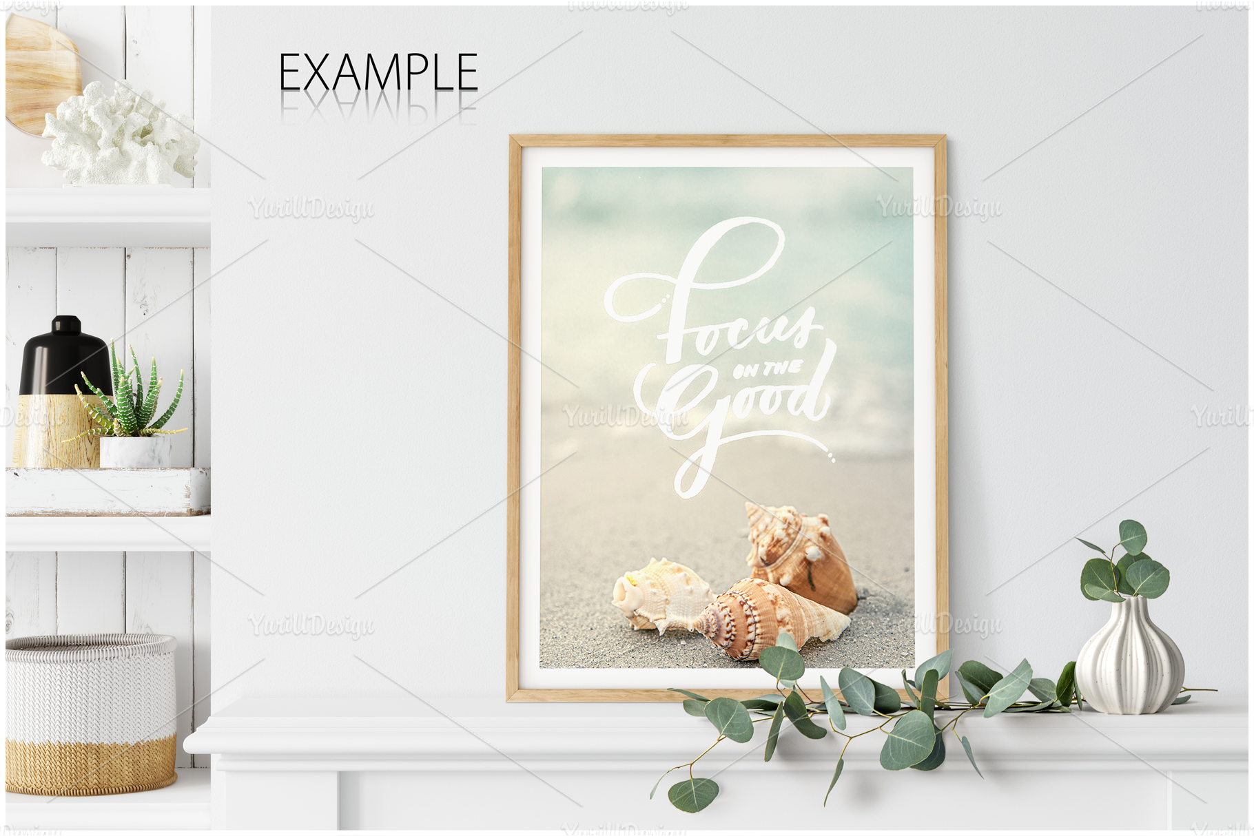 Frames & Walls Coastal Mockups Bundle example image 16