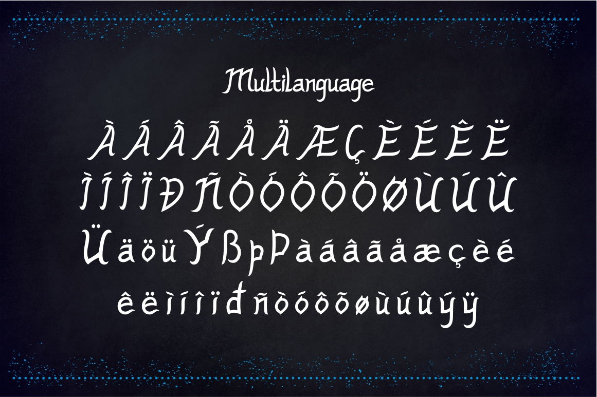 Ghost House - Halloween Font example image 3