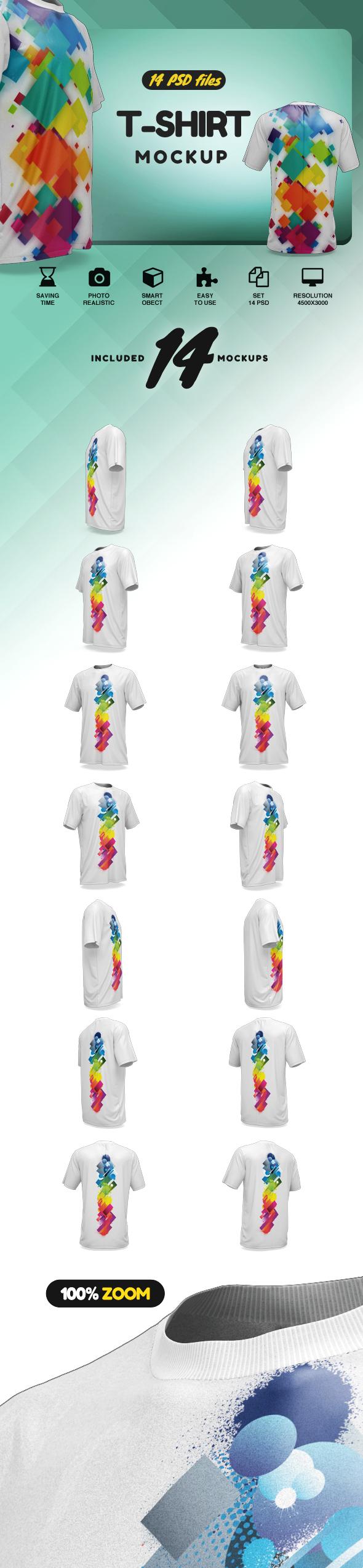 T-Shirt Mockup example image 2
