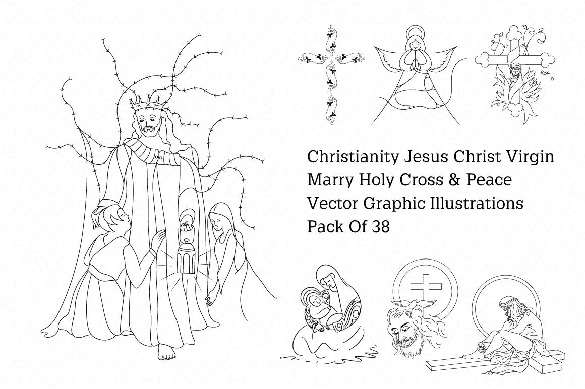 Christmas & New Year Bundle of Ornamental Mockups & Graphics example image 22