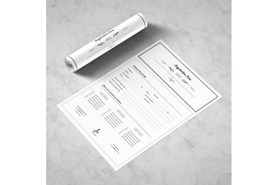 Registration Form Template v3 example image 4