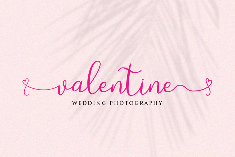 Loveyou - Romantic Font example image 2