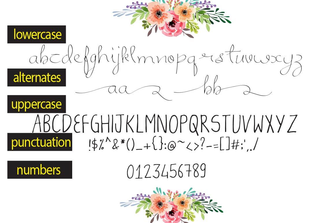 Nemana - A font Duo example image 2