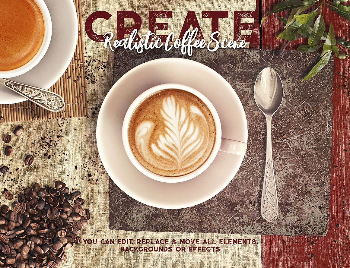 Coffee Scene Creator example image 3
