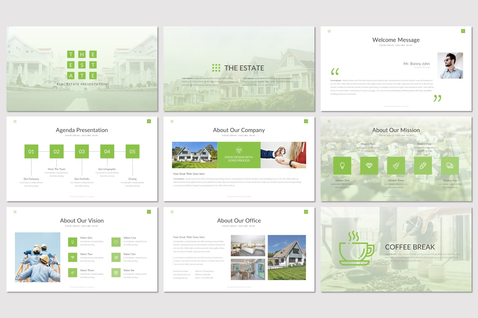 The Estate - Keynote Template example image 2