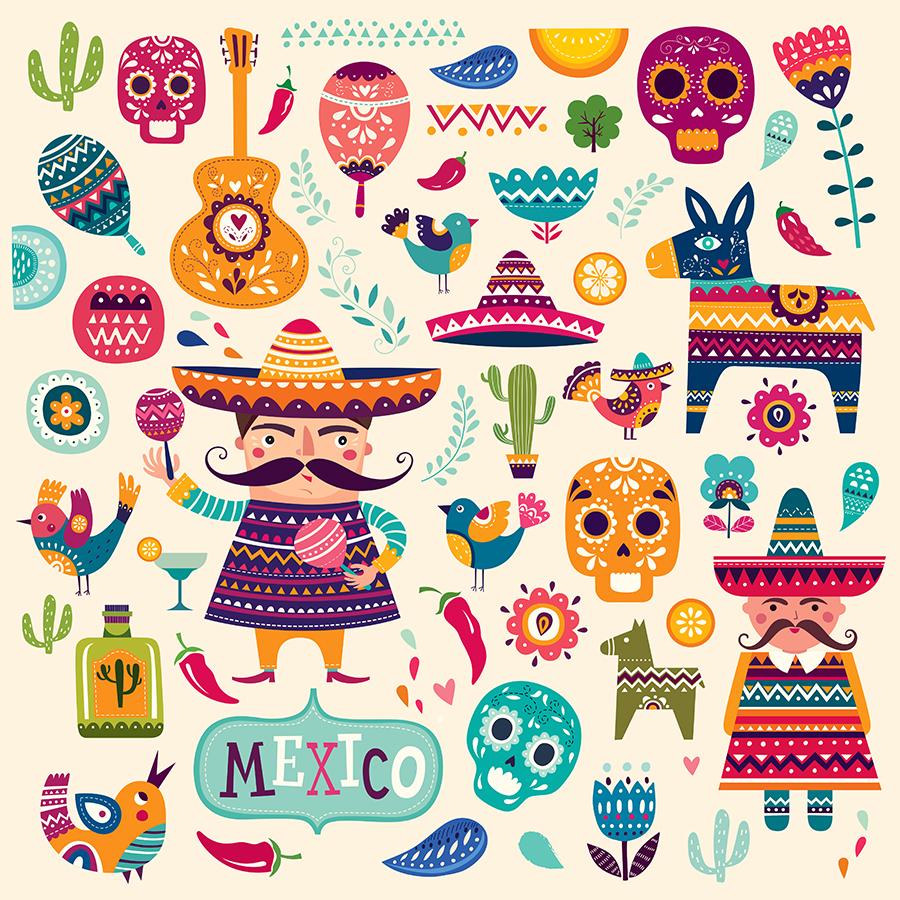 Mexican symbols example image 2