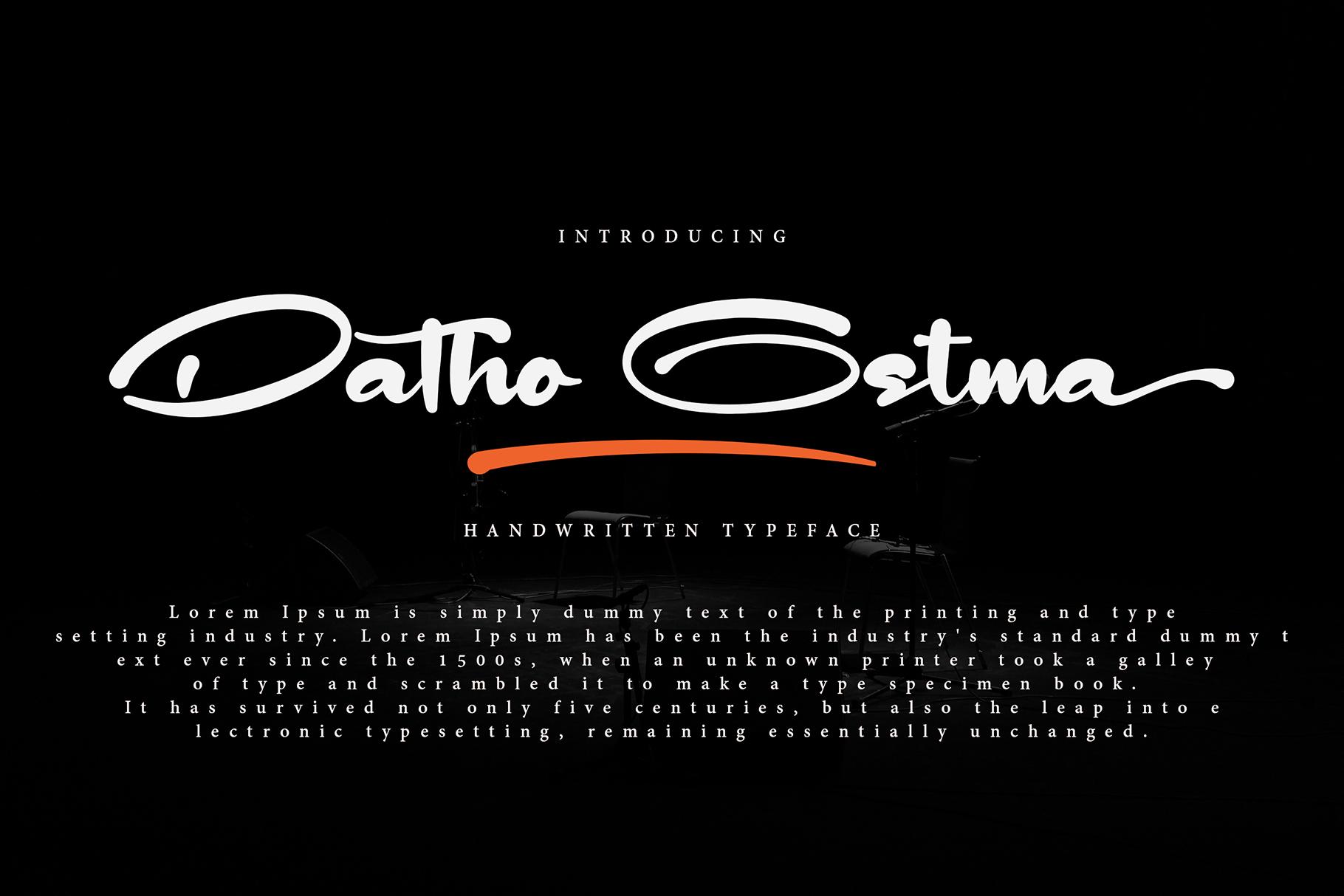 Datho Ostma example image 1