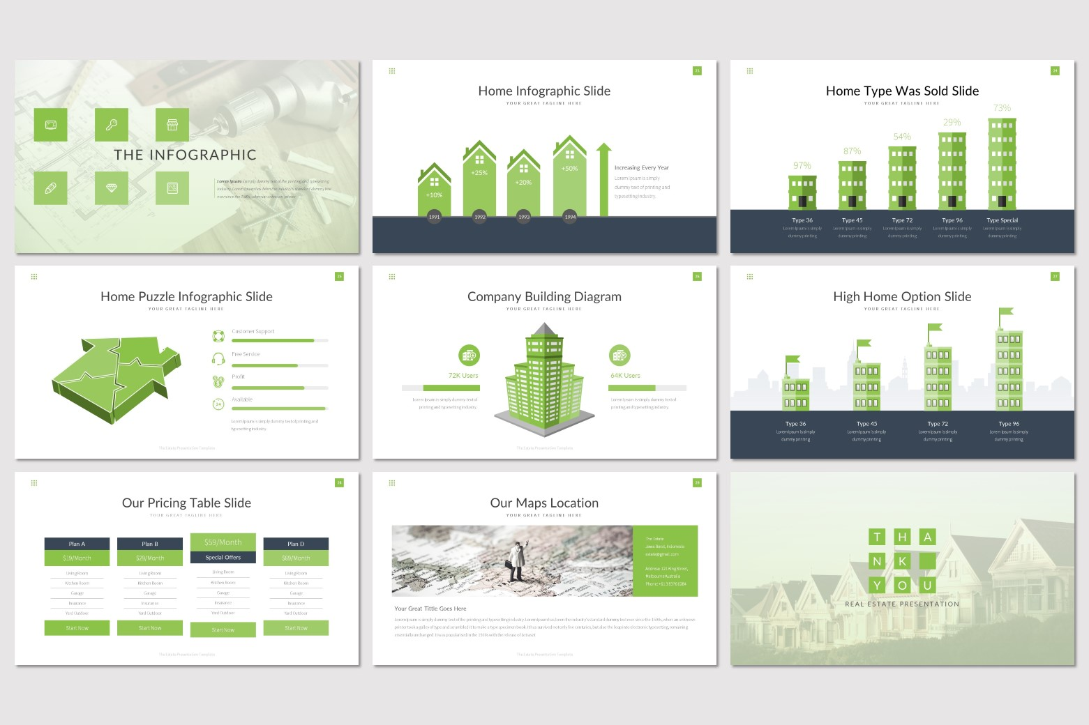 The Estate - Keynote Template example image 5