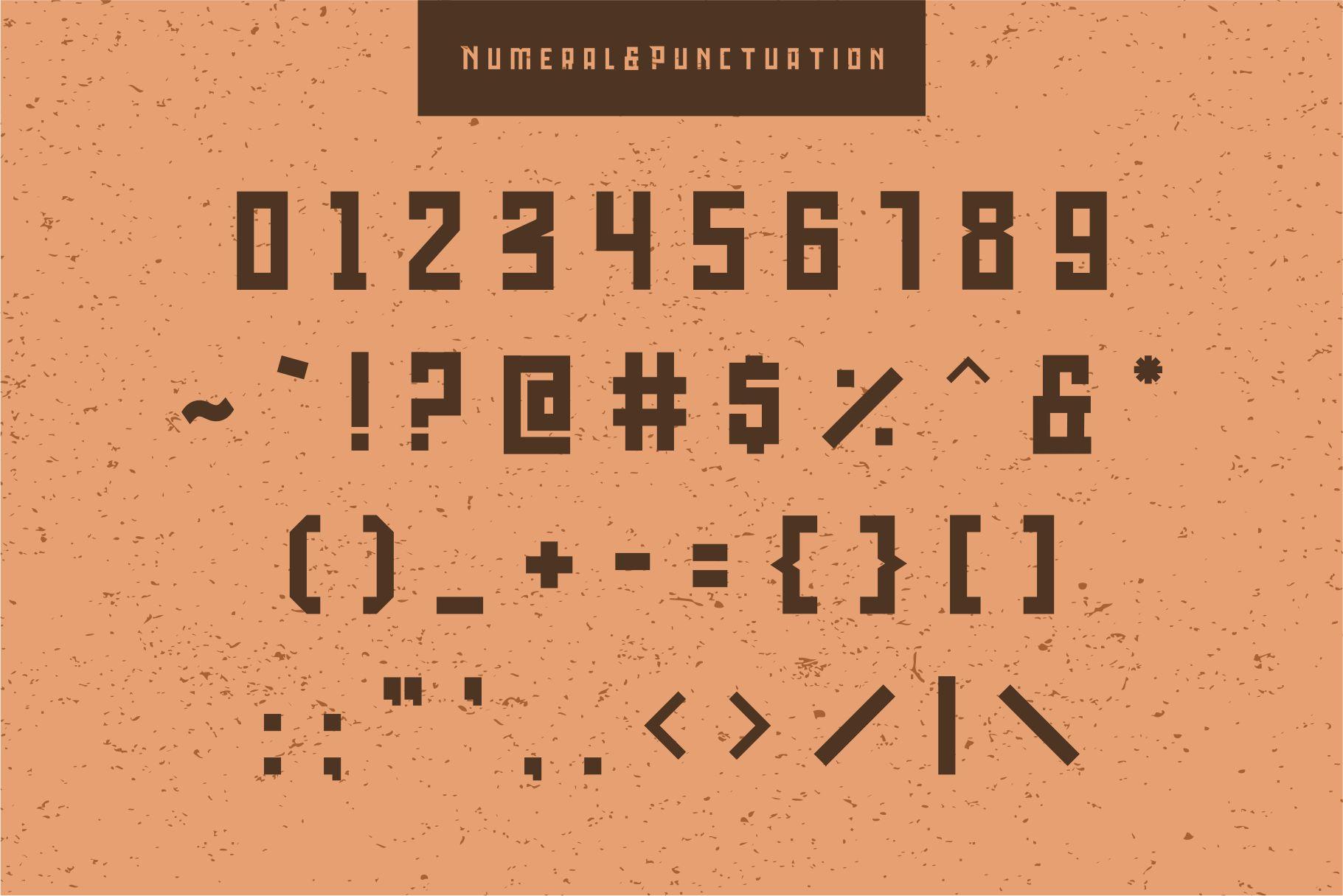 Bedebah Typeface example image 3