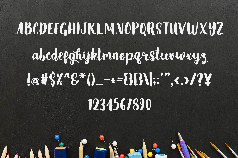 Tuesday Sush - Brush Script Font example image 5