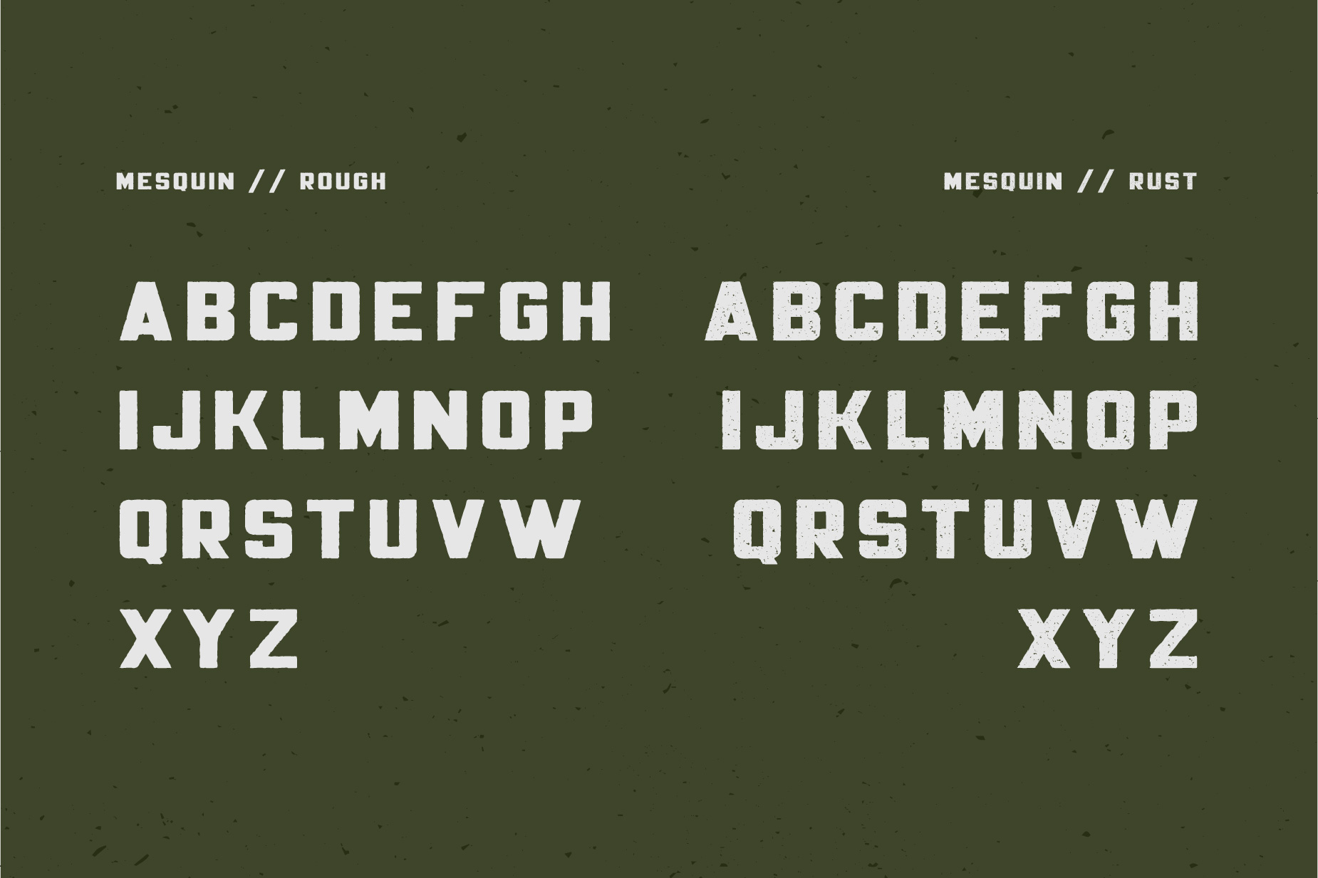Mesquin Font example image 8