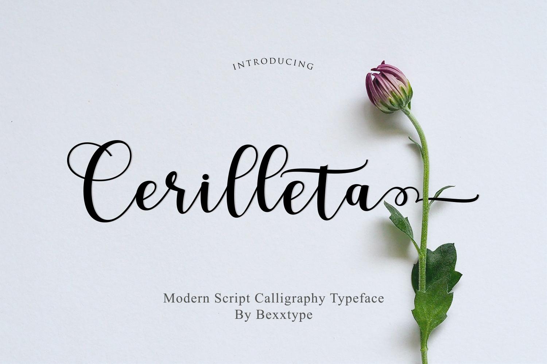 Cerilleta Script example image 9