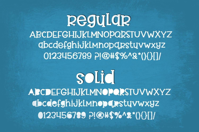 Handwritten Font Bundle - 4 Cut-friendly Fonts example image 5